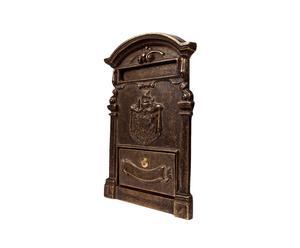 Boîte aux lettes laiton, bronze - H40