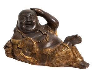 1 Statuette NASI bronze, marron et doré - L21