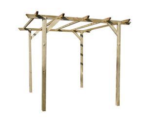 Pergola per rampicanti in legno di pino Wisteria - 300x240x300 cm