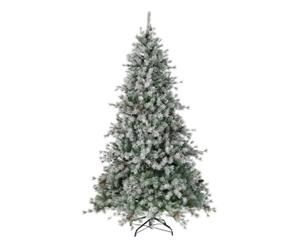 Sapin artificiel SNOW, vert et blanc - H225
