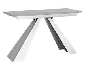 Table ELICA bois de mélèze, gris - H120