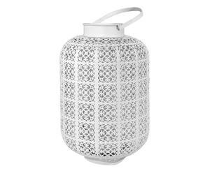 Lanterne JACQUARD, blanc - H56