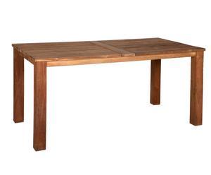 Table de jardin, teck - L160