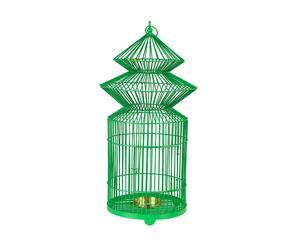 Lanterne métal, vert - H62