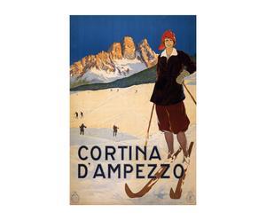 Impression sur toile CORTINA - 40*60