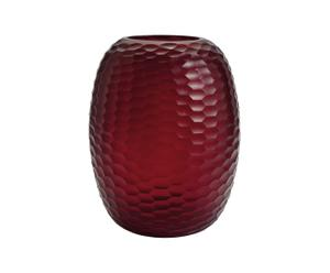 Vase RUBY LARGE, rouge - H33