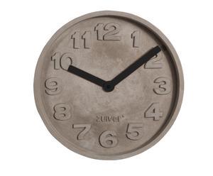 Horloge murale, gris et noir - Ø31