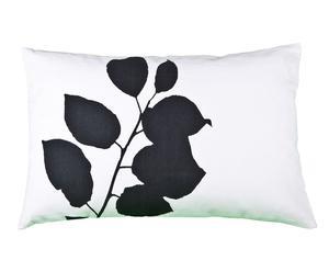 Housse de coussin Leaf, blanc - 40*60
