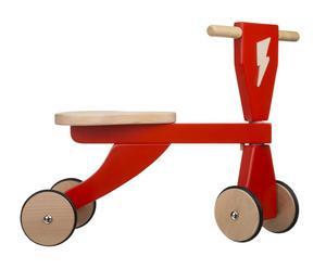 Vélo ECLAIR Hêtre, rouge et naturel - L50