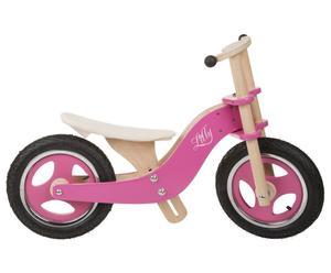 Vélo LILLY Hêtre et bouleau, rose et naturel - L86