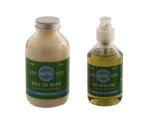 Sels de bain et gel douche, olive de provence