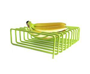 Corbeille à fruits, vert citron