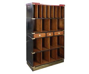 Libreria in legno a 20 scomparti Four Seasons