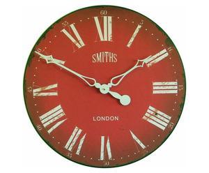 Orologio anticato da parete Smith Red - D 50 cm