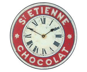 Orologio anticato da parete Etienne Chocolate - D 36 cm