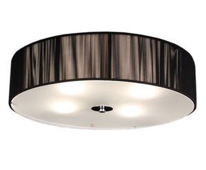 Lampadario a sospensione in alluminio Black rotondo - D 50 cm