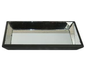 vassoio con specchio Vertigo - 49x33 cm