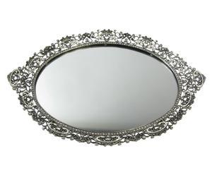 vassoio specchio Zarina - 36x25 cm