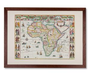 Cartina del Sudafrica by Peter Verbiest - anno 1607