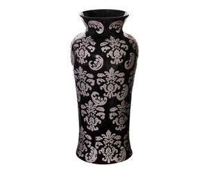 Vaso Orientale in terracotta ming - d 16/H 35 cm