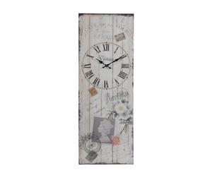 orologio da parete sarine - 35x100x5 cm