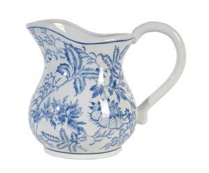 brocca in ceramica toile - 15x23x13 cm