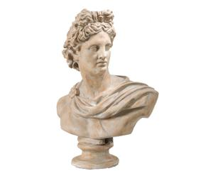busto decorativo da tavolo Helene - 60x79x34 cm