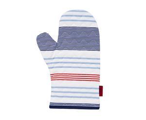 Guanto da forno in poliestere Stripes - 18x30 cm