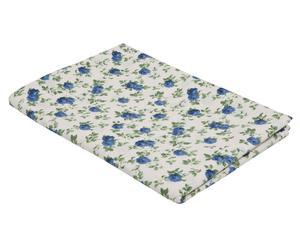 Tovaglia rettangolare in cotone Elegance blu - 130x170 cm