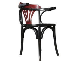 Sedia in legno di ciliegio Navy - 60X55X79 cm