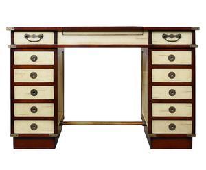 scrivania in ciliegio e pino Madras - 121x79x56 cm