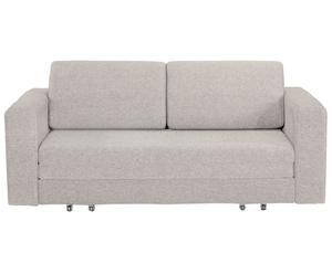 divano letto a 2 posti Fabric beige melange - 65x190x100 cm