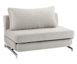 poltrona letto Fabric beige melange - 70x120x92 cm