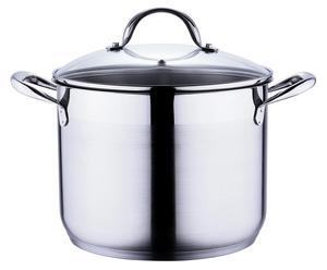 Pentola in acciaio Gourmet Line + coperchio - 8,2 lt
