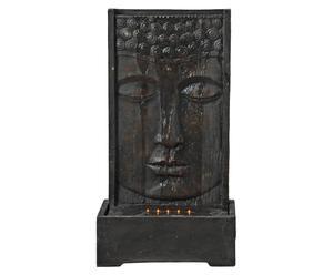 Fontana da parete in resina Buddha - 50x30x90 cm
