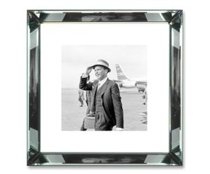 Foto con cornice in vetro Frank Sinatra - 47x47x5 cm