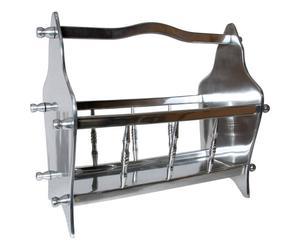 Portalegna in metallo DANDY - 44x20x35 cm