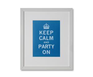 Kunstdruck … party on, 25 x 30 cm