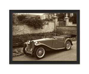 stampa su carta Vintage Cars I - 40x30 cm