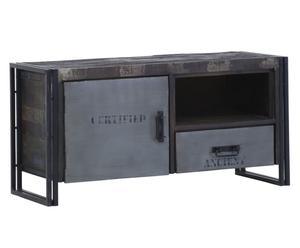 mobile tv in Metallo e mango aurora - 120x60x42 cm