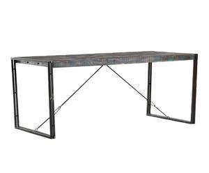 tavolo pieghevole in Metallo e mango pittsburgh - 160x76x90 cm