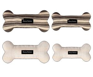 Set di 4 ossi gioco in cotone FUN - Max L 28 cm