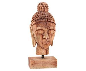 Soprammobile deco in legno Buddha - 15x10x37 cm