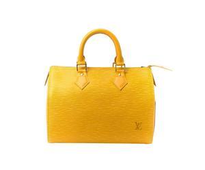 borsa Louis Vuitton Yellow Speedy 25 - 25x21x17 cm