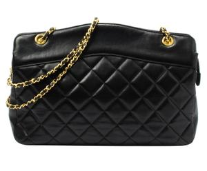 Chanel Matelassé Double Chain Schultertasche I
