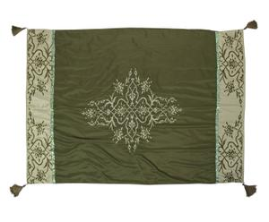 Telo indiano in poliestere e lana Arabesque - 152x107 cm