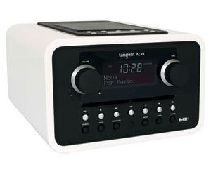 radiosveglia con sistema Docking per iPod, iPhone e DAB ALIO - bianco