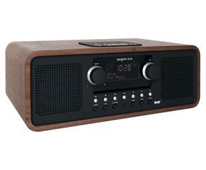 radiosveglia con sistema Docking per iPod, iPhone e DAB ALIO Stereo MKII - legno