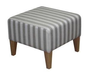 Poggiapiedi Stripes - 45x40x45 cm