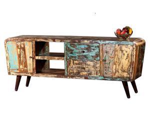 Mobile tv in legno con 2 cassetti Rio - 185x77x45 cm